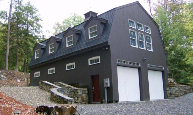 Gambrel Roof Barn Garage Plans Rachael Edwards