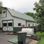 Gambrel Roof Pole Barn Barns Ideas Pinterest