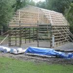 Gambrel Roof Pole Barns