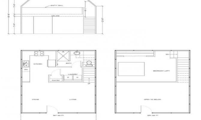 Gambrel Style Barn Plans House