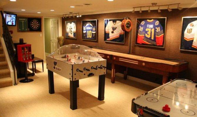 Game Entertainment Rooms Featuring Witty Design Ideas