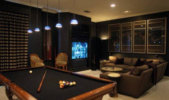 Game Room Ideas Men Cool Home Entertainment Designs