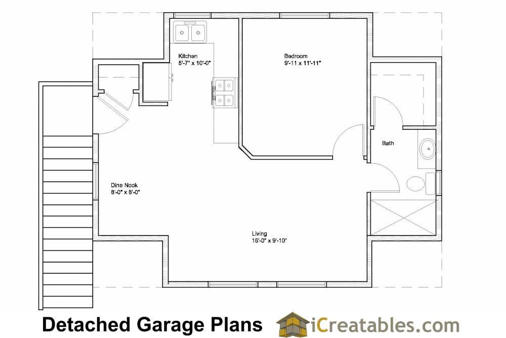 Garage Apartment Floor Plans Bing House Plans 85278