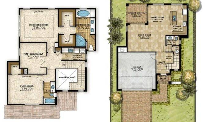 Garage Apartment Floor Plans Large