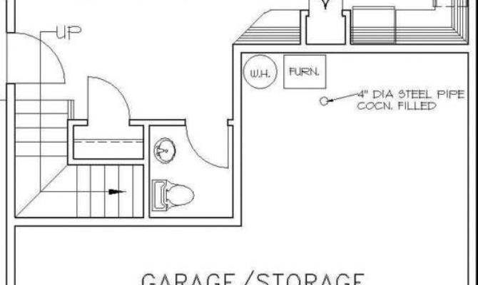 Garage Apartment Floor Plans One Story Thefloors