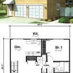 Garage Apartment Plan Has Square Feet Living
