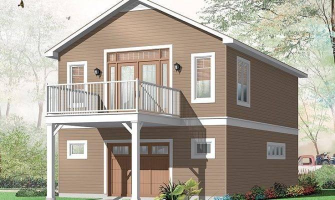 Garage Apartment Plan Plans Pinterest Apartments