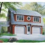 Garage Apartment Plans Car Carriage House Plan