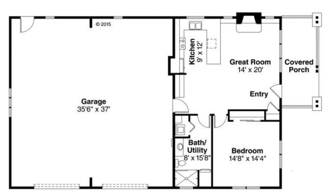 Garage Apartment Plans Story Plan