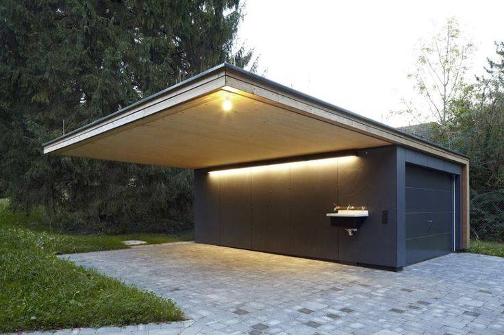 Garage Design Ideas Container Houses Cantilever Roof Modern House Plans 36271