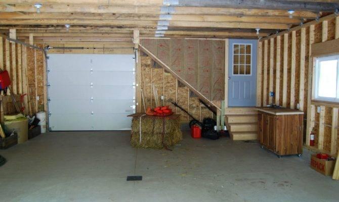 Garage Design Ideas Optimizing Chessboard Flooring