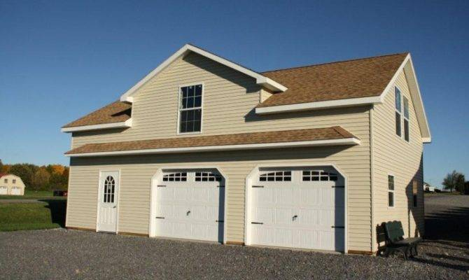 Garage Designs Impressive Prefab Garages Painted