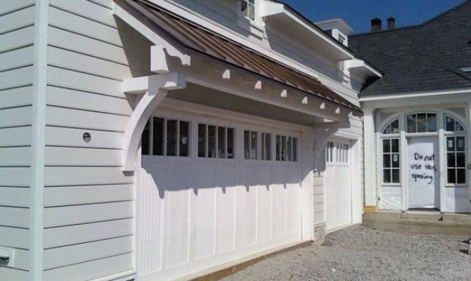 Garage Door Overhangs Best Doors Wood