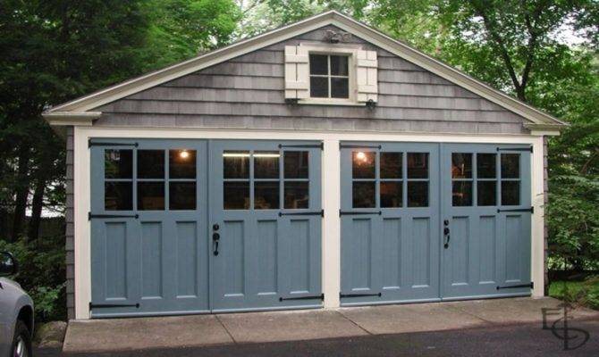 Garage Door Shed Carriage Doors Cottage Style