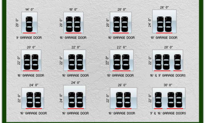 Garage Door Sizes Standard Heights Widths Archives