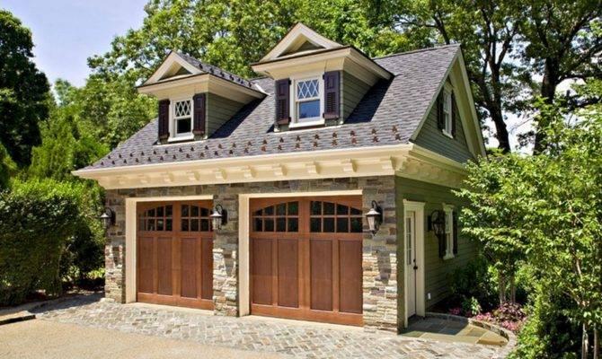 Garage Guest House Design Stone Below Spaces