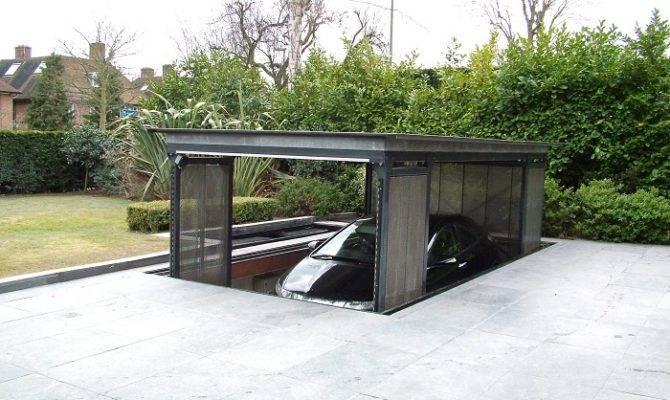 Garage House Plans Underground