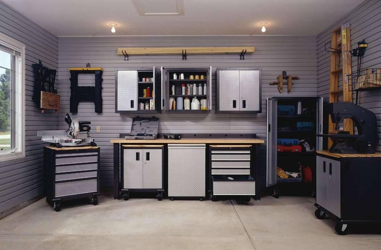 Garage Interior Design Ideas Petrolheads Black White House Plans 44166