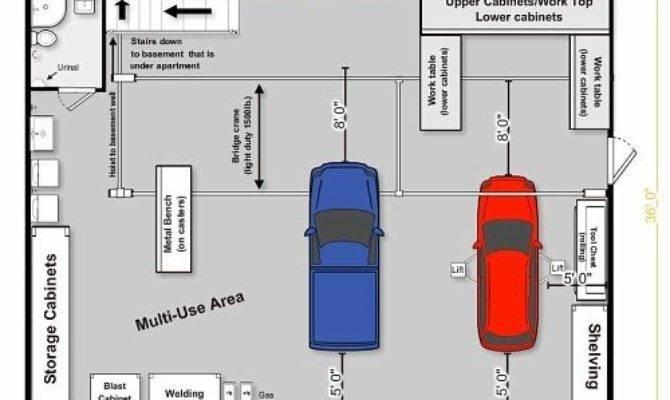 Garage Layout Planner Template