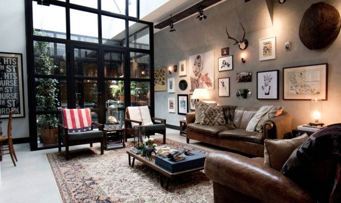 Garage Loft Amsterdam Bricks Home Design