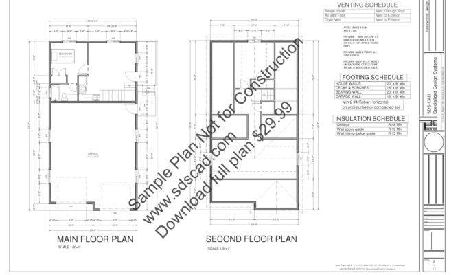 Garage Mother Law Apartment Plans