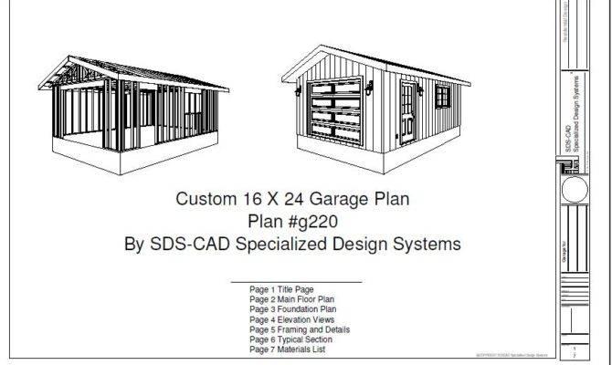 Garage Plan Blueprints House Reviews