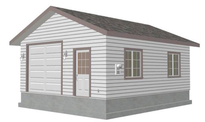 Garage Plan Blueprints