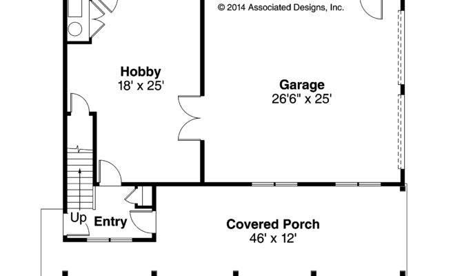 Garage Plan First Floor
