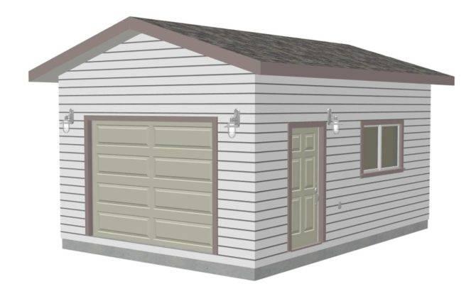 Garage Plan Garden Shed Plans