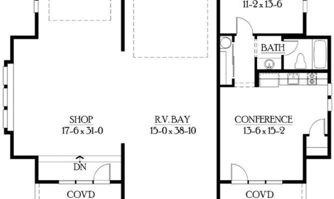 Garage Plan Living Quarters Floor
