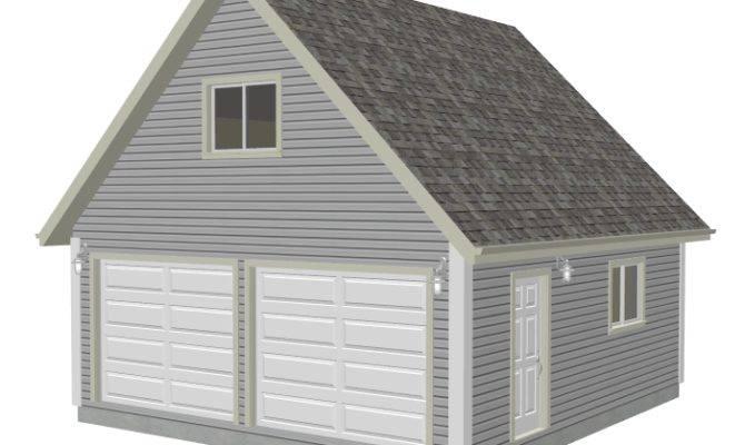 23 Artistic 20 X 24 Garage Plans With Loft - House Plans