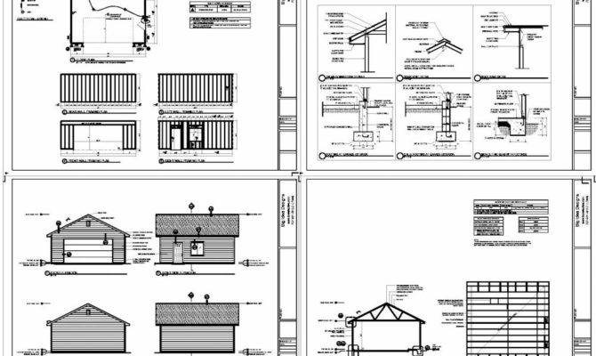 18 Dream 24x24 Garage Package Photo House Plans