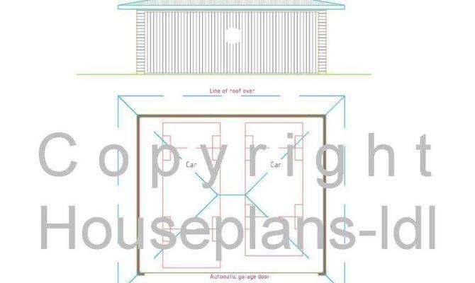 Garage Plans House Double Plan Contemporary