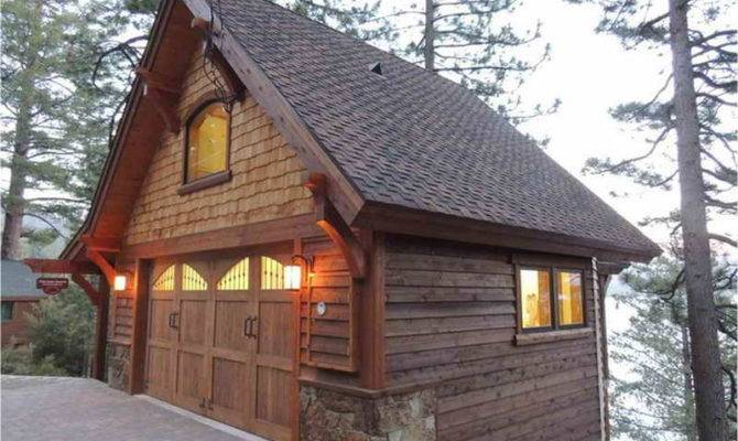Garage Plans Living Space Above Rustic