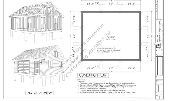 Garage Plans Sdsplans Pdf