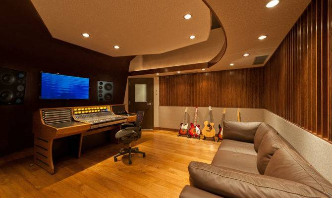 Garage Recording Studio Design Wes Lachot
