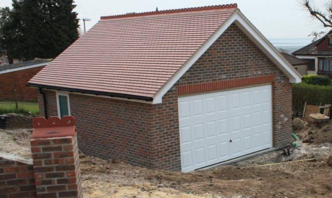 Garage Roof Finished Solent Building