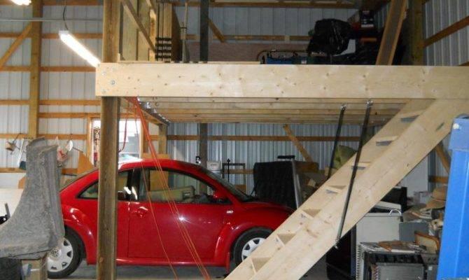 Garage Shop Ideas Pinterest Attic Loft