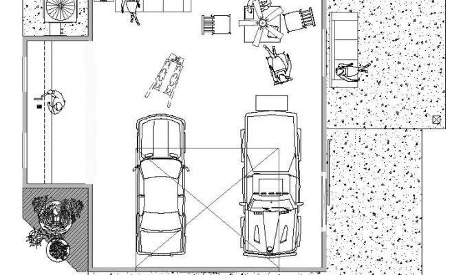 Garage Shop Plan