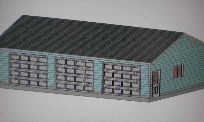 Garage Shop Plans Materials List Blueprints