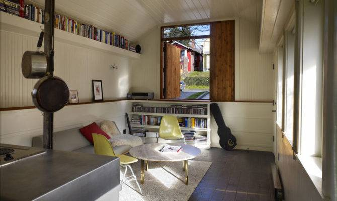 Garage Transformation Studio Shed Architecture Design