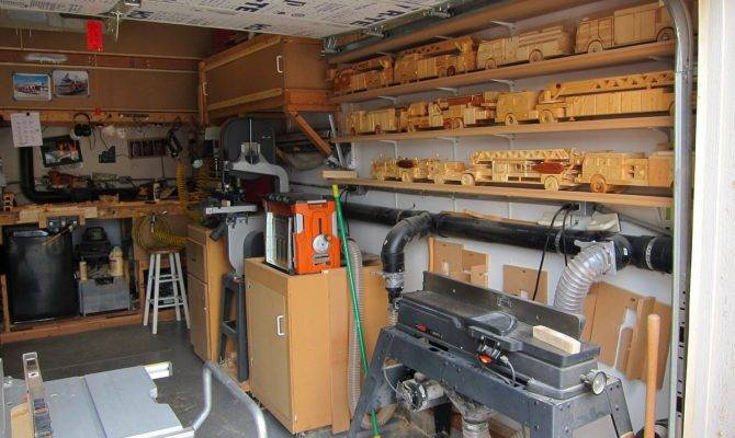 Garage Woodshop Plans House Home Designs
