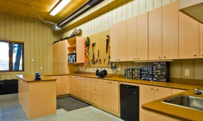 Garage Workshop Houzz