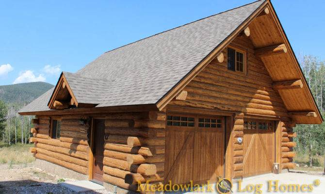 Garages Barns Meadowlark Log Homes