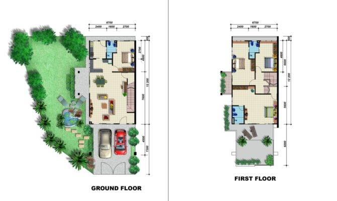 Garden Home Plans Design