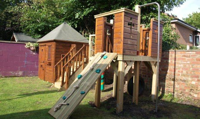 Garden Playhouse Castle Tower Playhouses