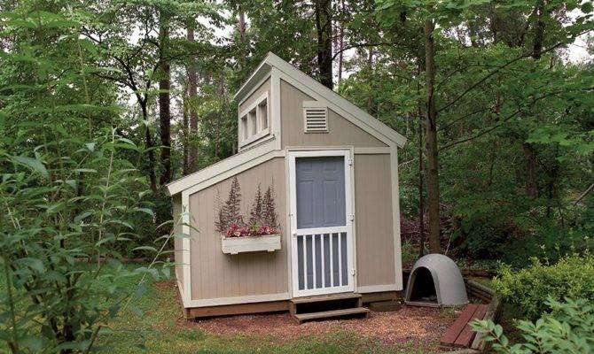 Garden Shed Clerestory Alp Chatham Design Group