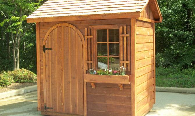 Garden Shed Design Plans Blueprints