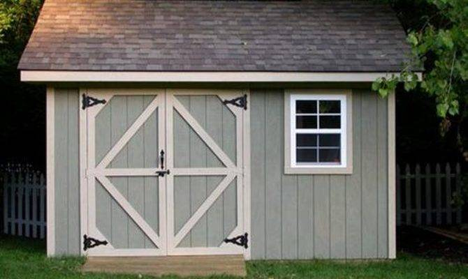 Garden Shed Designs Plans Package