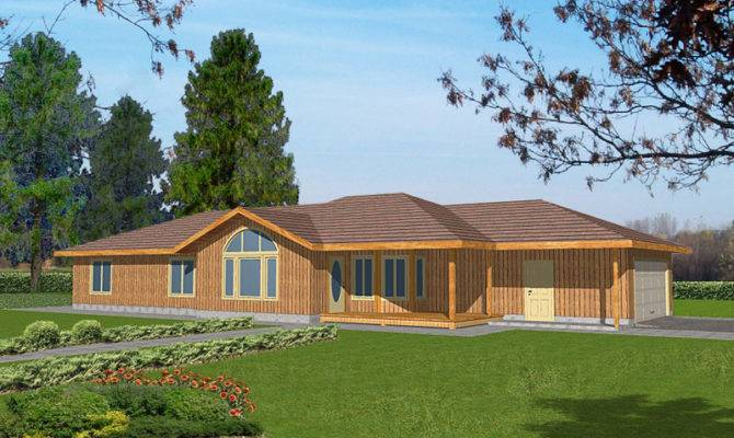 Gatlinburg Country Ranch Home Plan House Plans More